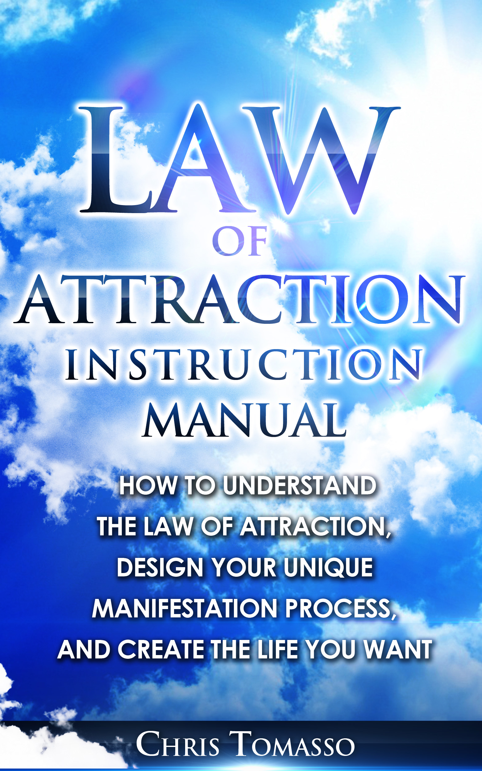 Law of Attraction Instruction Manual Cover